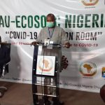 AU ECOSOCC Nigeria Covid-19 situation room